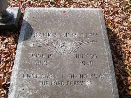 MCMULLEN, FRANK C - Ouachita County, Louisiana | FRANK C MCMULLEN - Louisiana Gravestone Photos