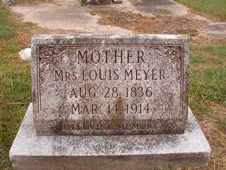 MEYER, MRS, LOUIS - Ouachita County, Louisiana | LOUIS MEYER, MRS - Louisiana Gravestone Photos