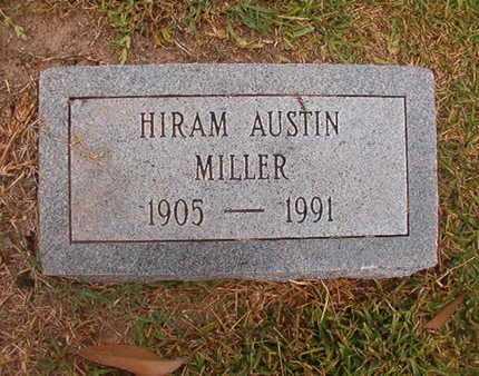 MILLER, HIRAM AUSTIN - Ouachita County, Louisiana   HIRAM AUSTIN MILLER - Louisiana Gravestone Photos