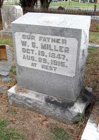 MILLER, W G - Ouachita County, Louisiana   W G MILLER - Louisiana Gravestone Photos