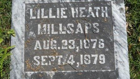 MILLSAPS, LILLIE HEATH - Ouachita County, Louisiana   LILLIE HEATH MILLSAPS - Louisiana Gravestone Photos