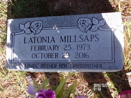 MILLSAPS, LATONIA - Ouachita County, Louisiana | LATONIA MILLSAPS - Louisiana Gravestone Photos