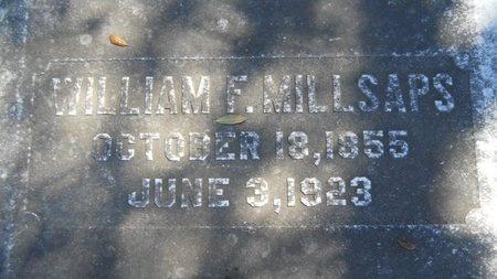 MILLSAPS, WILLIAM F - Ouachita County, Louisiana | WILLIAM F MILLSAPS - Louisiana Gravestone Photos