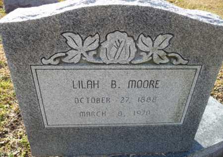 MOORE, LILAH B - Ouachita County, Louisiana   LILAH B MOORE - Louisiana Gravestone Photos