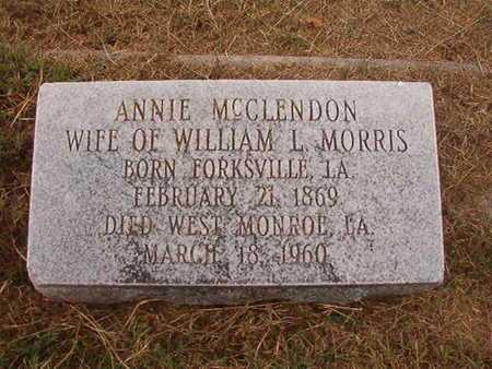 MORRIS, ANNIE - Ouachita County, Louisiana | ANNIE MORRIS - Louisiana Gravestone Photos