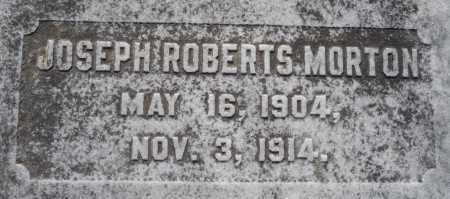 MORTON, JOSEPH ROBERTS - Ouachita County, Louisiana | JOSEPH ROBERTS MORTON - Louisiana Gravestone Photos