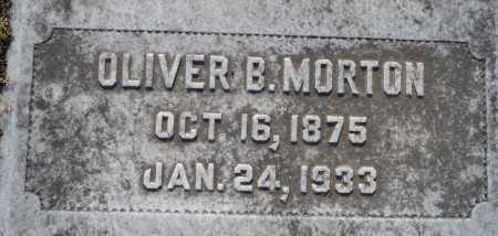 MORTON, OLIVER B - Ouachita County, Louisiana   OLIVER B MORTON - Louisiana Gravestone Photos