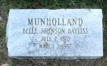 MUNHOLLAND, BELLE - Ouachita County, Louisiana | BELLE MUNHOLLAND - Louisiana Gravestone Photos