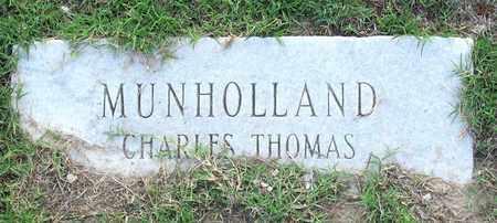 MUNHOLLAND, CHARLES THOMAS - Ouachita County, Louisiana | CHARLES THOMAS MUNHOLLAND - Louisiana Gravestone Photos