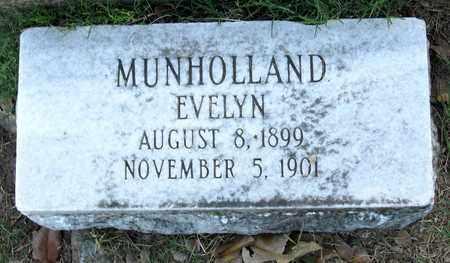 MUNHOLLAND, EVELYN - Ouachita County, Louisiana   EVELYN MUNHOLLAND - Louisiana Gravestone Photos