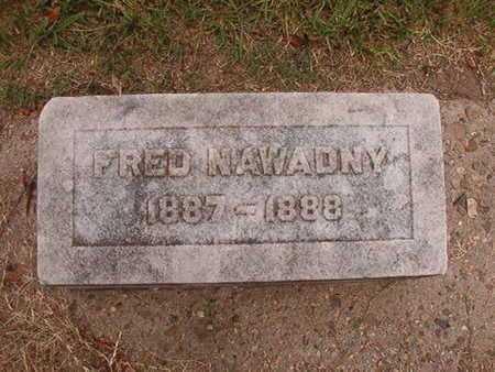 NAWADNY, FRED - Ouachita County, Louisiana | FRED NAWADNY - Louisiana Gravestone Photos