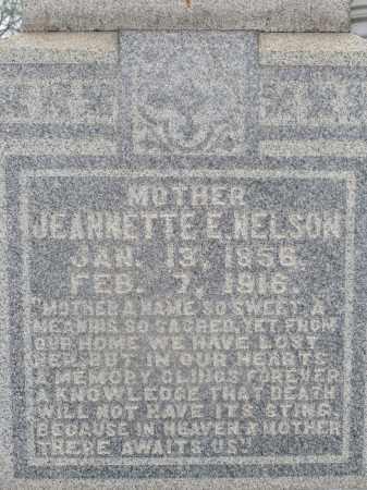 NELSON, JEANETTE - Ouachita County, Louisiana | JEANETTE NELSON - Louisiana Gravestone Photos