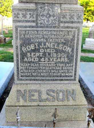 NELSON, ROBERT J (CLOSE UP) - Ouachita County, Louisiana | ROBERT J (CLOSE UP) NELSON - Louisiana Gravestone Photos