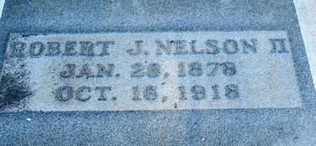 NELSON, ROBERT J,II  (CLOSE UP) - Ouachita County, Louisiana | ROBERT J,II  (CLOSE UP) NELSON - Louisiana Gravestone Photos