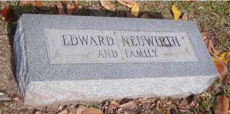 NEUWIRTH, EDWARD - Ouachita County, Louisiana | EDWARD NEUWIRTH - Louisiana Gravestone Photos