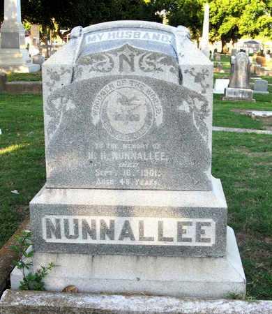 NUNNALEE, H H - Ouachita County, Louisiana | H H NUNNALEE - Louisiana Gravestone Photos