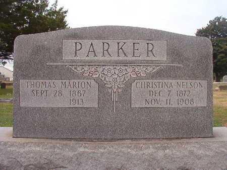 NELSON PARKER, CHRISTINA - Ouachita County, Louisiana | CHRISTINA NELSON PARKER - Louisiana Gravestone Photos