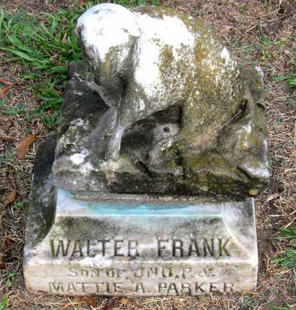 PARKER, WALTER FRANK - Ouachita County, Louisiana | WALTER FRANK PARKER - Louisiana Gravestone Photos