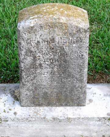 PETERS, WILLIAM HENRY - Ouachita County, Louisiana   WILLIAM HENRY PETERS - Louisiana Gravestone Photos