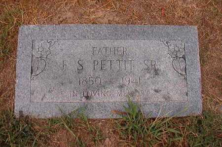 PETTIT, F S, SR - Ouachita County, Louisiana | F S, SR PETTIT - Louisiana Gravestone Photos