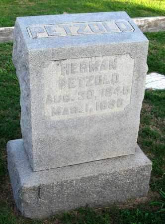PETZOLD, HERMAN - Ouachita County, Louisiana | HERMAN PETZOLD - Louisiana Gravestone Photos