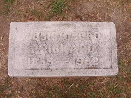PRICHARD, JOHN CICERO - Ouachita County, Louisiana   JOHN CICERO PRICHARD - Louisiana Gravestone Photos