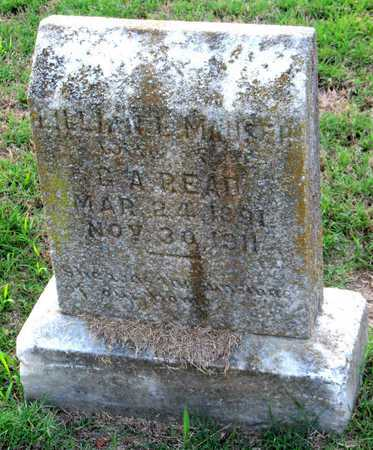 MAUSER READ, LILLIAN E - Ouachita County, Louisiana | LILLIAN E MAUSER READ - Louisiana Gravestone Photos