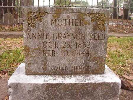 REED, ANNIE - Ouachita County, Louisiana | ANNIE REED - Louisiana Gravestone Photos