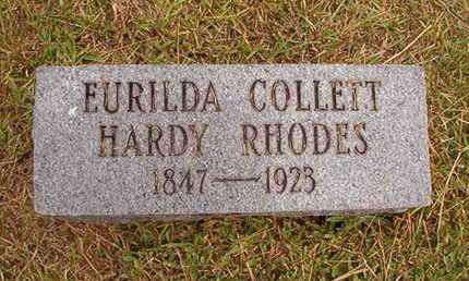 RHODES, EURILDA COLLETT - Ouachita County, Louisiana | EURILDA COLLETT RHODES - Louisiana Gravestone Photos