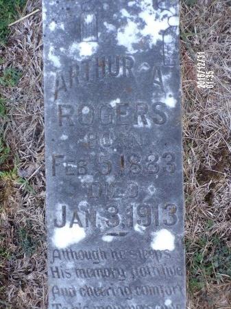 ROGERS, ARTHUR A - Ouachita County, Louisiana   ARTHUR A ROGERS - Louisiana Gravestone Photos