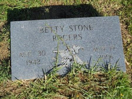 ROGERS, BETTY - Ouachita County, Louisiana   BETTY ROGERS - Louisiana Gravestone Photos