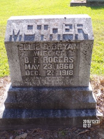 ROGERS, ELLIE F - Ouachita County, Louisiana | ELLIE F ROGERS - Louisiana Gravestone Photos