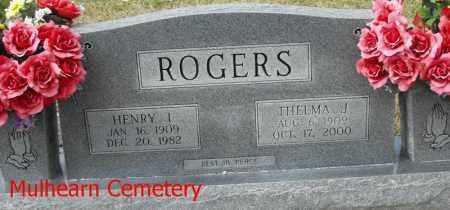 ROGERS, THELMA J - Ouachita County, Louisiana | THELMA J ROGERS - Louisiana Gravestone Photos
