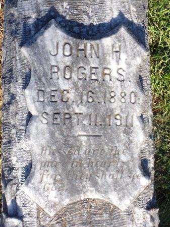 ROGERS, JOHN H - Ouachita County, Louisiana | JOHN H ROGERS - Louisiana Gravestone Photos
