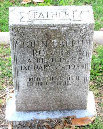 ROGERS, JOHN RALPH - Ouachita County, Louisiana   JOHN RALPH ROGERS - Louisiana Gravestone Photos