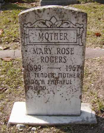 ROGERS, MARY ROSE - Ouachita County, Louisiana | MARY ROSE ROGERS - Louisiana Gravestone Photos