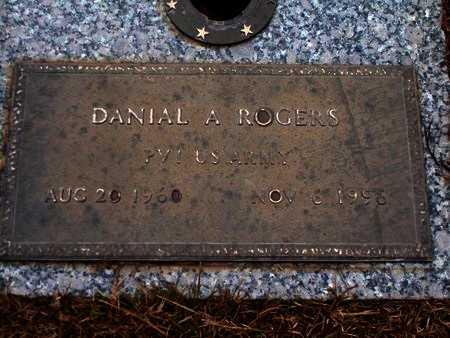 ROGERS, DANIAL A (VETERAN) - Ouachita County, Louisiana   DANIAL A (VETERAN) ROGERS - Louisiana Gravestone Photos