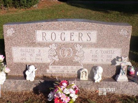 "ROGERS, T C ""CORTEZ"" - Ouachita County, Louisiana | T C ""CORTEZ"" ROGERS - Louisiana Gravestone Photos"