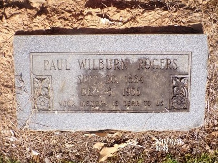 ROGERS, PAUL WILBURN - Ouachita County, Louisiana   PAUL WILBURN ROGERS - Louisiana Gravestone Photos