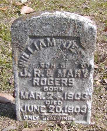 ROGERS, WILLIAM JESSE - Ouachita County, Louisiana | WILLIAM JESSE ROGERS - Louisiana Gravestone Photos