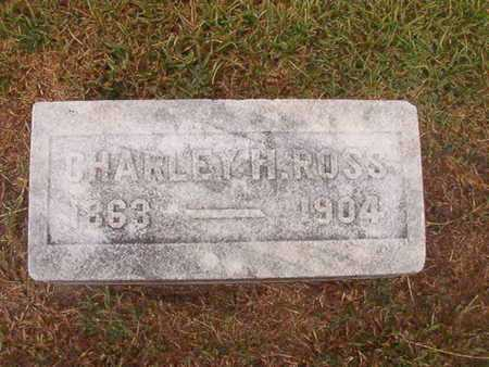 ROSS, CHARLEY H - Ouachita County, Louisiana | CHARLEY H ROSS - Louisiana Gravestone Photos