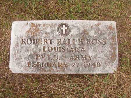 ROSS, ROBERT RALPH (VETERAN WWI) - Ouachita County, Louisiana | ROBERT RALPH (VETERAN WWI) ROSS - Louisiana Gravestone Photos
