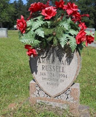RUSSELL, AMBER GAIL - Ouachita County, Louisiana   AMBER GAIL RUSSELL - Louisiana Gravestone Photos