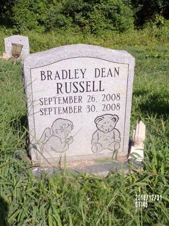 RUSSELL, BRADLEY DEAN - Ouachita County, Louisiana | BRADLEY DEAN RUSSELL - Louisiana Gravestone Photos