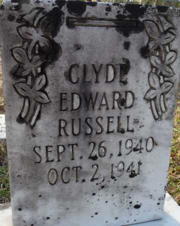 RUSSELL, CLYDE EDWARD - Ouachita County, Louisiana | CLYDE EDWARD RUSSELL - Louisiana Gravestone Photos
