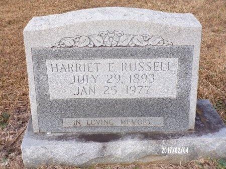 RUSSELL, HARRIET ELIZABETH - Ouachita County, Louisiana | HARRIET ELIZABETH RUSSELL - Louisiana Gravestone Photos