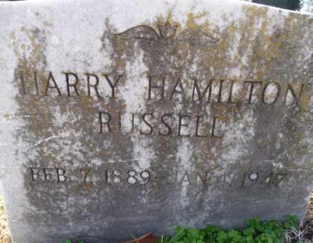 RUSSELL, HARRY HAMILTON - Ouachita County, Louisiana   HARRY HAMILTON RUSSELL - Louisiana Gravestone Photos