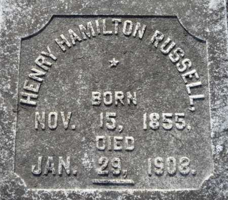 RUSSELL, HENRY HAMILTON - Ouachita County, Louisiana   HENRY HAMILTON RUSSELL - Louisiana Gravestone Photos