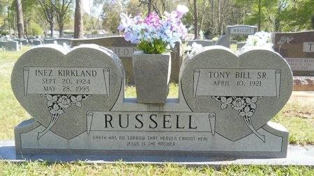 RUSSELL, INEZ - Ouachita County, Louisiana | INEZ RUSSELL - Louisiana Gravestone Photos