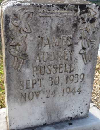 RUSSELL, JAMES AUBREY - Ouachita County, Louisiana | JAMES AUBREY RUSSELL - Louisiana Gravestone Photos